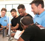 Flüchtlinge Ausbildungsverträge