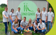 Azubi-Start-up Junges Gemüse